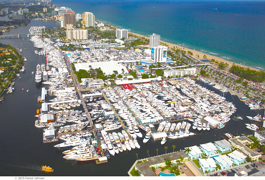Fort Lauderdale International Boat Show 2016 YPI CREW