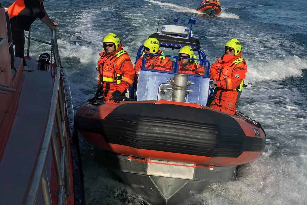 Antibes Lifeboat Station semi-rigid inflatable lifeboat