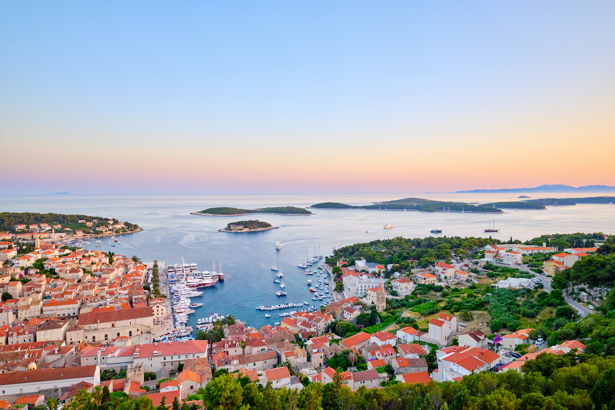 10 Best Spots for Yachting in Croatia - Hvar Town Harbour